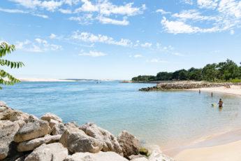 Les plages du Bassin d'Arcachon au Cap Ferret